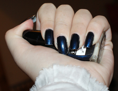 vernis Midnight blue de Gemey Maybelline
