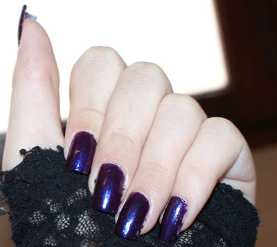 Vernis Sephora Violet Cassis