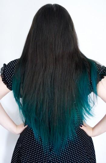 tout sur lombr hair bleu turquoise blood is the new black - Coloration Cheveux Bleu Turquoise