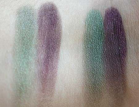 base high voltage smoky kat von d  swatch
