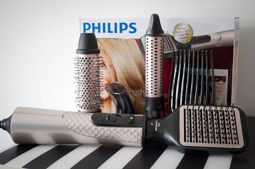 la brosse soufflante de philips la r volution du s chage. Black Bedroom Furniture Sets. Home Design Ideas
