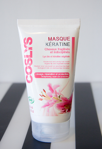 le masque capillaire la keratine de coslys blood is the new black