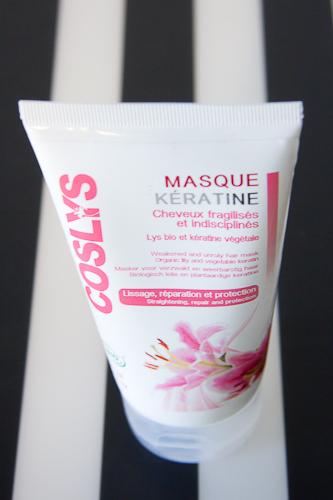 le masque capillaire la keratine de coslys blood is the new black. Black Bedroom Furniture Sets. Home Design Ideas