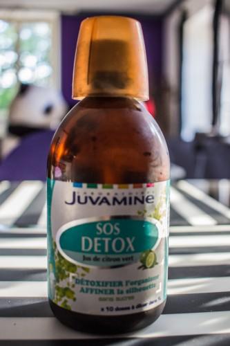Le complément alimentaire SOS Detox de Juvamine | Blood is