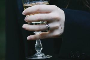 mariage gothique vin d'honneur